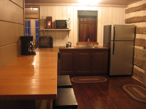Click to view Back Again fully equipped kitchen